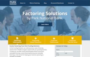 Park National Bank - Factoring Division