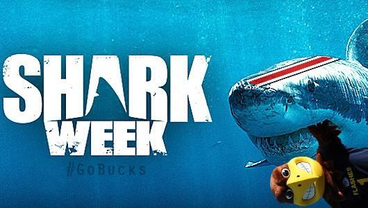OSU Shark Week Tweet