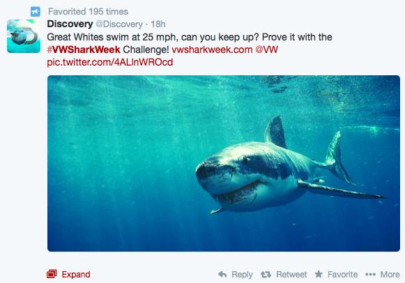 Volkswagen Shark Week Game