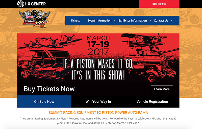 IX Center - Piston Power Show