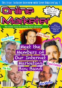 Internet Marketing Boy Band