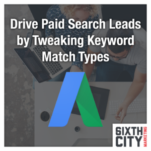 Google AdWords Match Types Overview