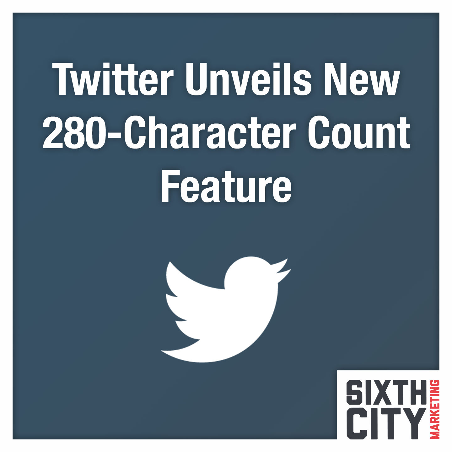 Twitter new character count