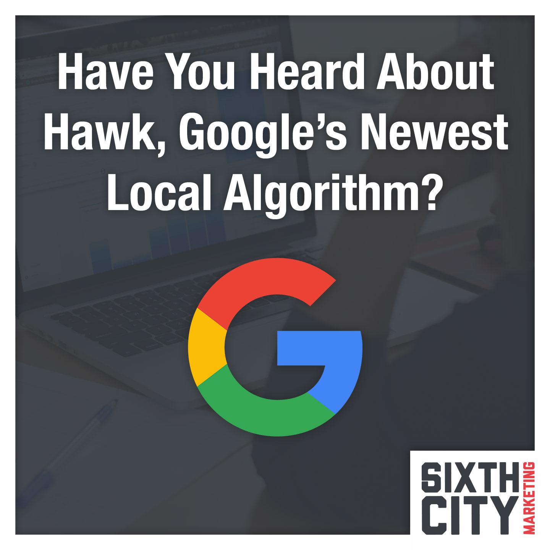 Google Hawk Algorithm