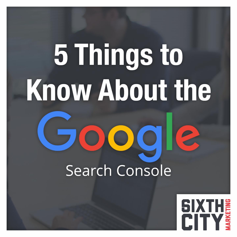 Google Search Console Basics