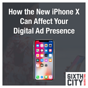 iPhone X digital marketing