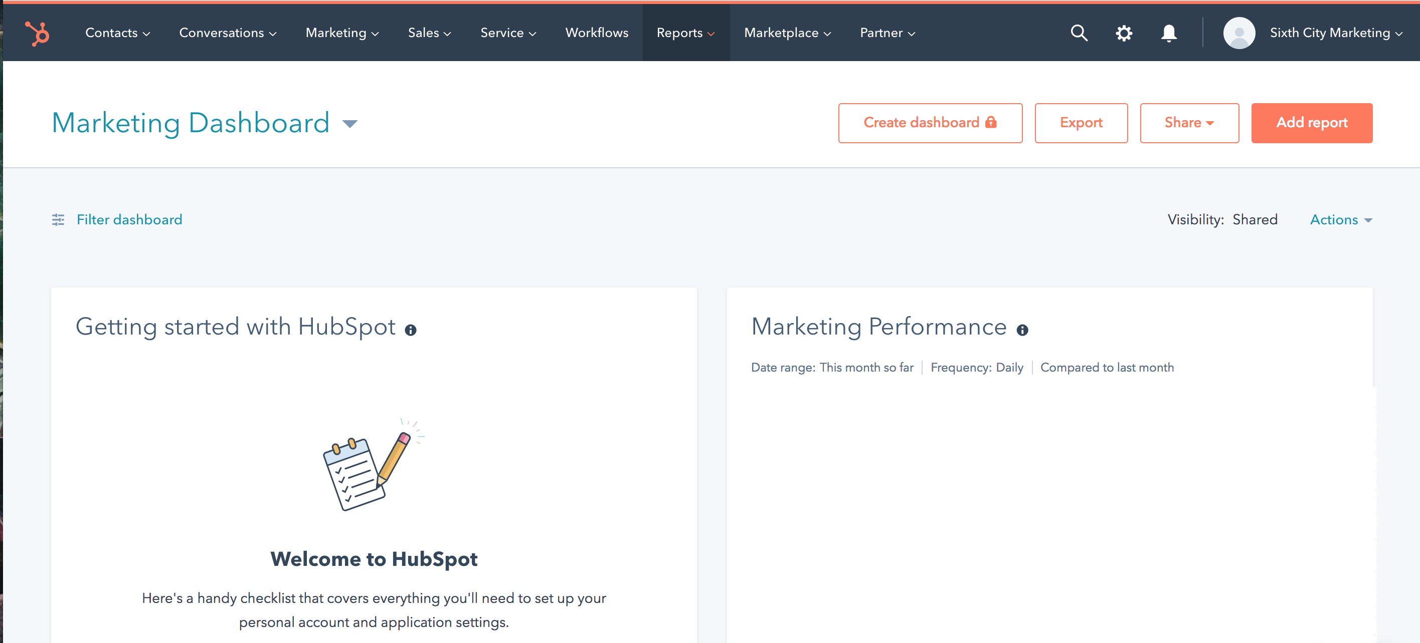 Sixth City is a Hubspot partner