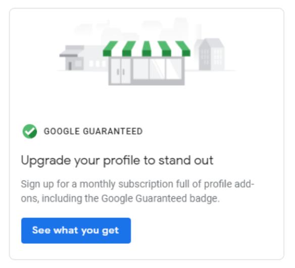 guarantee info