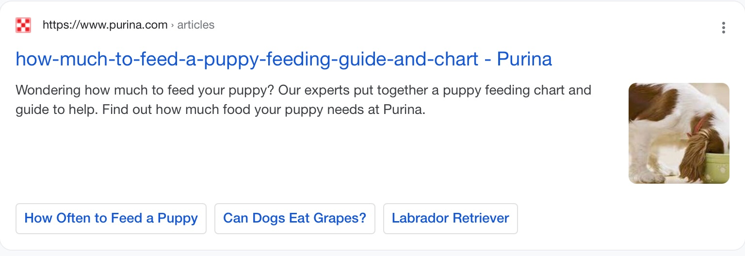 google title change example 1