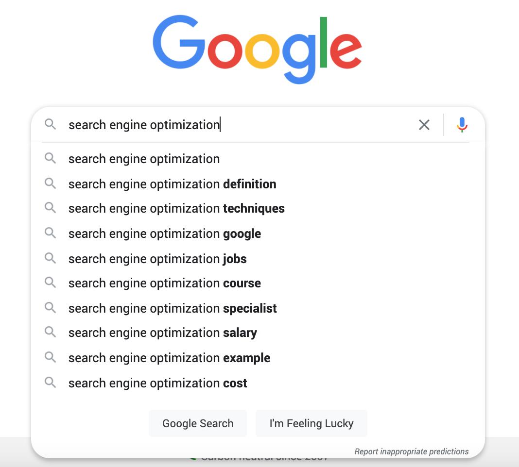autofill search